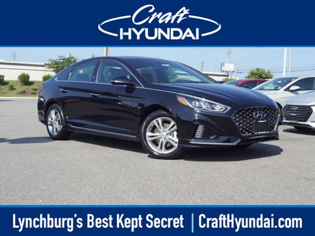 new Hyundai vehicle 2018 Hyundai Sonata Sport+ Sedan for sale near you in Lynchburg, VA