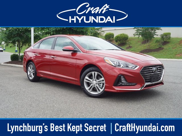 Featured New 2018 Hyundai Sonata SEL Sedan for sale near you in Lynchburg, VA