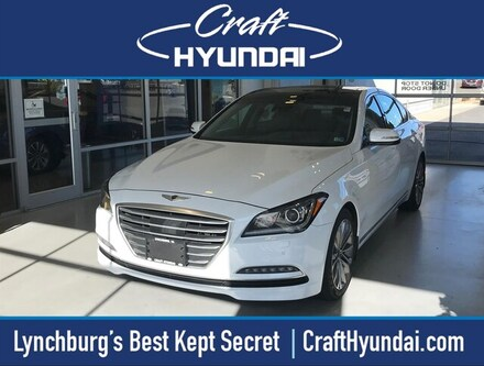 Featured Pre-Owned 2016 Hyundai Genesis 3.8 (A8) Sedan for sale near you in Lynchburg, VA