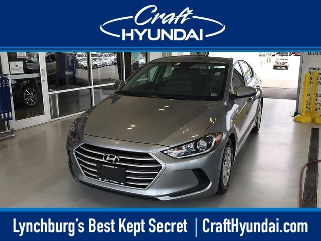 Featured Pre-Owned 2017 Hyundai Elantra SE Sedan for sale near you in Lynchburg, VA