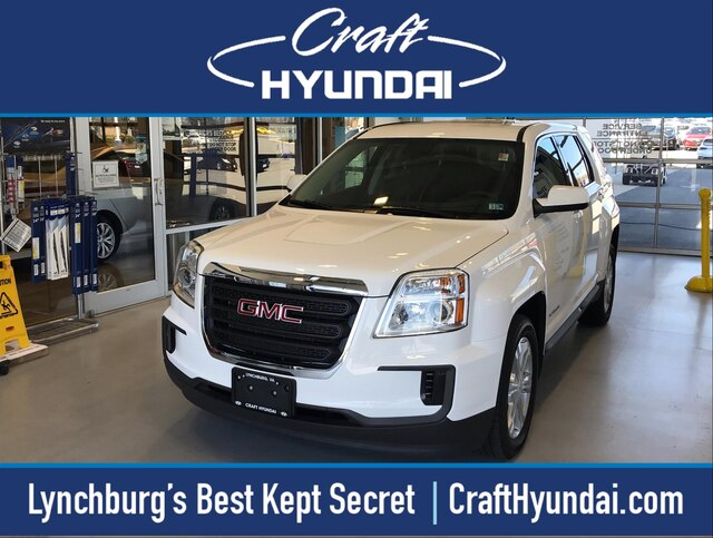 Featured Pre-Owned 2017 GMC Terrain SLE-1 SUV for sale near you in Lynchburg, VA