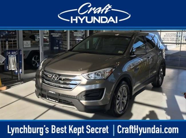 Certified pre-owned Hyundai car or SUV 2016 Hyundai Santa Fe Sport 2.4L SUV for sale near you in Lynchburg, VA