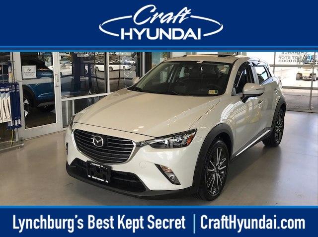 Featured pre-owned cars, trucks, and SUVs 2016 Mazda Mazda CX-3 Grand Touring SUV for sale near you in Lynchburg, VA