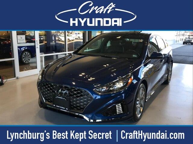 Featured Pre-Owned 2018 Hyundai Sonata Limited 2.0T+ Sedan for sale near you in Lynchburg, VA