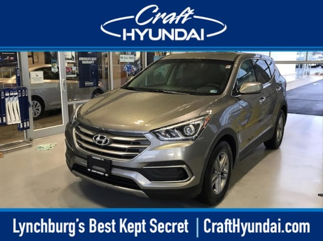 Used vehicle 2018 Hyundai Santa Fe Sport 2.4L SUV for sale near you in Lynchburg, VA