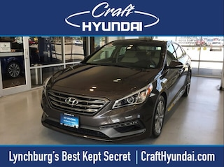 Certified Pre-Owned 2016 Hyundai Sonata Limited w/PZEV Sedan for sale near you in Lynchburg, VA
