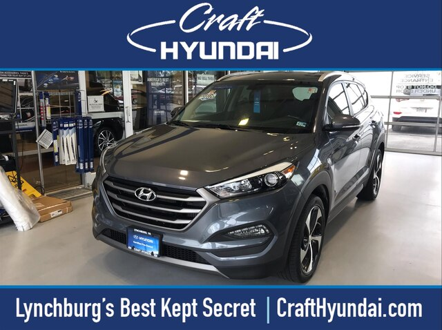 Featured Pre-Owned 2016 Hyundai Tucson Sport SUV for sale near you in Lynchburg, VA