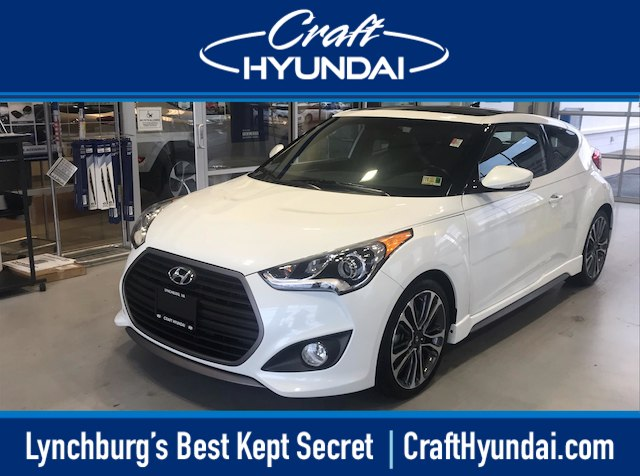 Featured Pre-Owned 2016 Hyundai Veloster Turbo Hatchback for sale near you in Lynchburg, VA