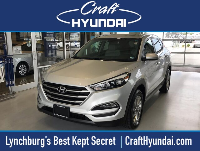 Featured Pre-Owned 2018 Hyundai Tucson SEL SUV for sale near you in Lynchburg, VA