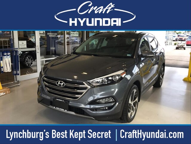 Featured Pre-Owned 2016 Hyundai Tucson Limited SUV for sale near you in Lynchburg, VA