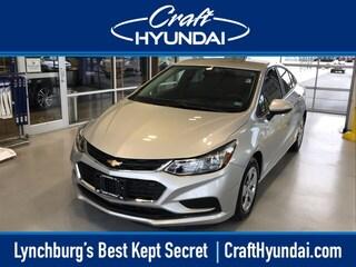 Bargain Used 2016 Chevrolet Cruze LS Auto Sedan for sale near you in Lynchburg, VA