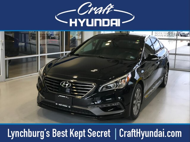 Featured Pre-Owned 2016 Hyundai Sonata Limited Sedan for sale near you in Lynchburg, VA