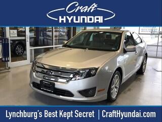 Bargain Used 2012 Ford Fusion SEL Sedan for sale near you in Lynchburg, VA