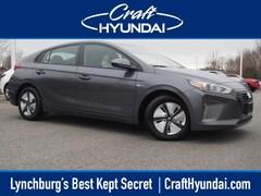 2019 Hyundai Ioniq Hybrid Blue Hatchback KMHC65LC8KU110560