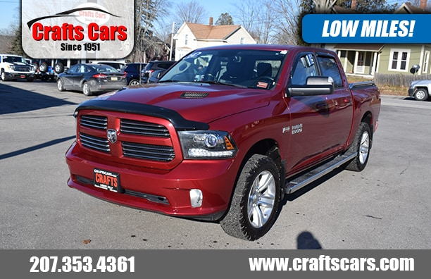 2014 Ram 1500 Sport - Leather - Sunroof - NAV - MORE Truck Crew Cab