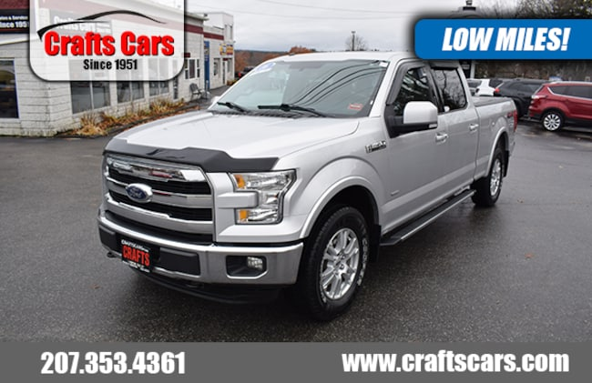 2016 Ford F-150 Lariat - Leather - Panoramic Sunroof - NAV Truck SuperCrew Cab