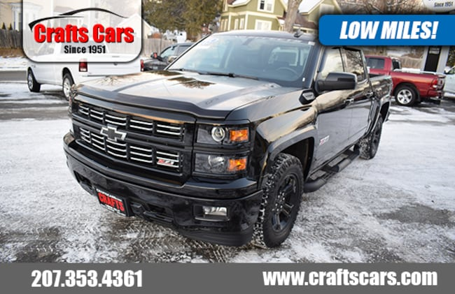 2015 Chevrolet Silverado 1500 LTZ - Leather - Sunroof - NAV - BLACKOUT Truck Crew Cab