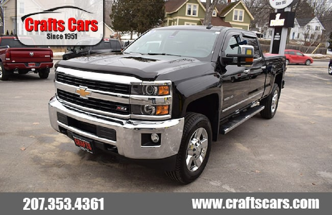 2015 Chevrolet Silverado 2500HD LTZ - Leather - Sunroof - NAV Truck Crew Cab