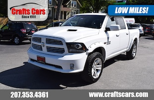 2014 Ram 1500 Sport - Leather - Sunroof - Navigation - Clean! Truck Crew Cab