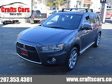 2012 Mitsubishi Outlander GT - Leather - Sunroof - NAV - 4x4 SUV