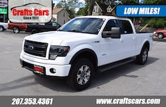 2014 Ford F-150 Leather - Navigation - EcoBoost Truck SuperCrew Cab