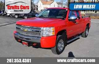 2010 Chevrolet Silverado 1500 LS - 4x4 - LOW LOW MILES! Truck Extended Cab