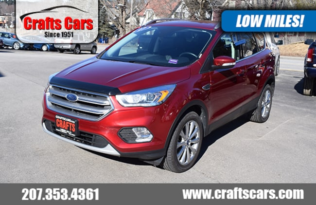2017 Ford Escape Titanium - Leather - EcoBoost - 4x4 SUV