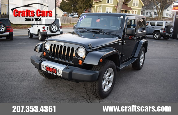 2013 Jeep Wrangler Sahara - 6-Speed SUV