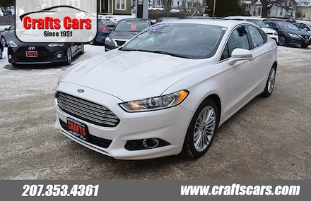 2016 Ford Fusion SE - Leather - Sunroof - NAV - AWD Sedan