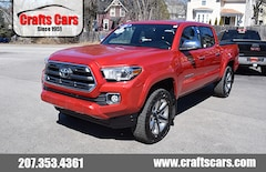 2016 Toyota Tacoma Limited - Leather - Sunroof - NAV - JBL  Truck Double Cab