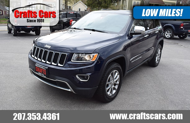 2016 Jeep Grand Cherokee Limited 4x4 - Leather - Sunroof - NAV SUV