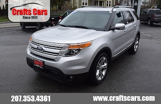 2015 Ford Explorer Limited - Leather - Sunroof - 3rd row SUV