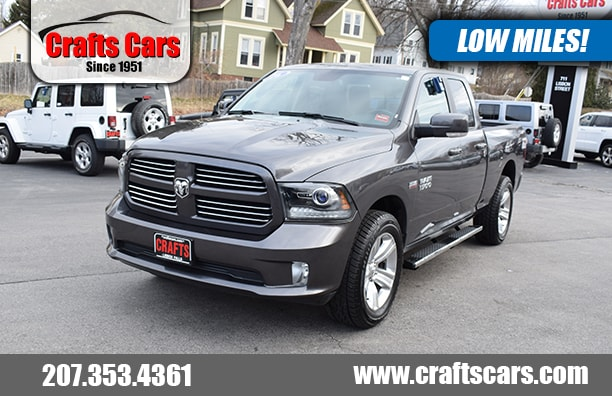 2016 Ram 1500 Sport - Leather - HEMI - Clean! Truck Quad Cab