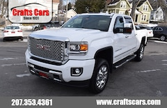 2015 GMC Sierra 2500HD Denali - DUARAMAX DIESEL - Leather - Sunroof - NAV Truck Crew Cab
