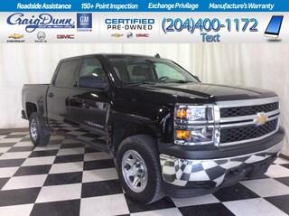 2014 Chevrolet Silverado 1500 2WT Crew 4x4 * Bluetooth *  USB *  2 Owner * Pickup