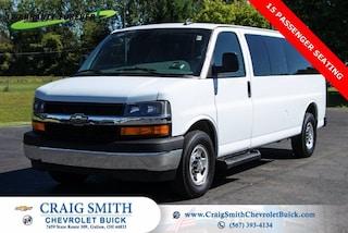 2019 Chevrolet Express Passenger 3500 LT Van Extended Passenger Van
