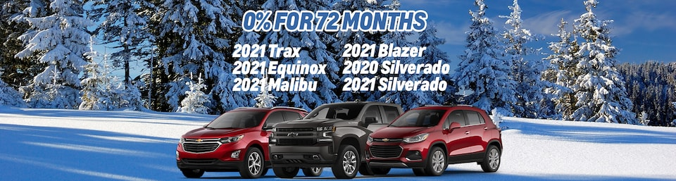 0% For 72 Months Available Inventory