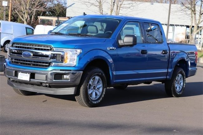 2019 Ford F-150 XLT 4WD Supercrew 5.5 Box Truck SuperCrew Cab
