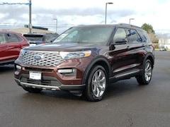 New 2020 Ford Explorer Platinum 4WD SUV Medford, OR