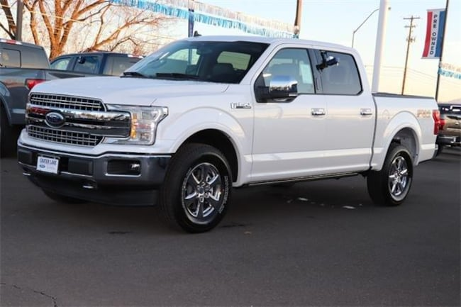 2019 Ford F-150 Lariat 4WD Supercrew 5.5 Box Truck SuperCrew Cab