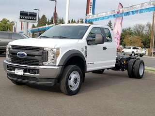 2019 Ford F-550 Chassis XL 4WD Supercab 192 WB 84 CA Truck Super Cab