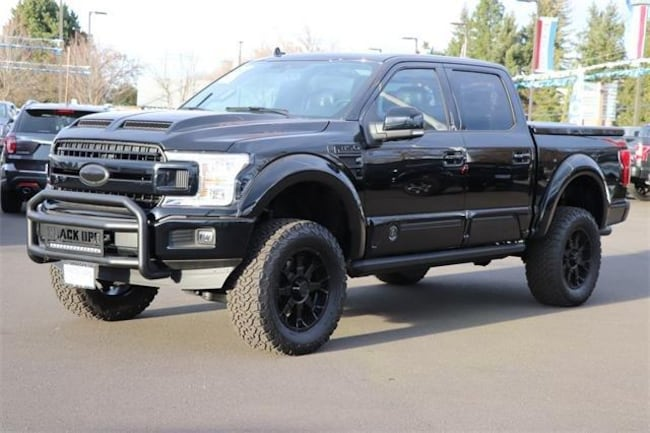 2018 Ford F-150 Tuscany Black Ops Lariat-4WD Superc Truck SuperCrew Cab