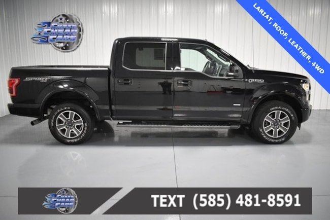 Used 2017 Ford F-150 Lariat Truck for sale in Oakfield, NY
