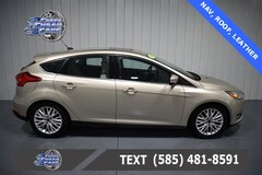 Used 2018 Ford Focus Titanium Hatchback 1FADP3N21JL294474 C294474 for Sale Near Buffalo NY