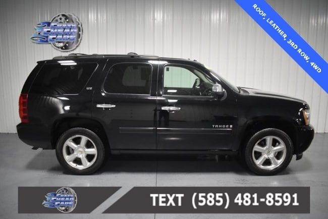 Used 2008 Chevrolet Tahoe LTZ SUV for sale in Oakfield, NY