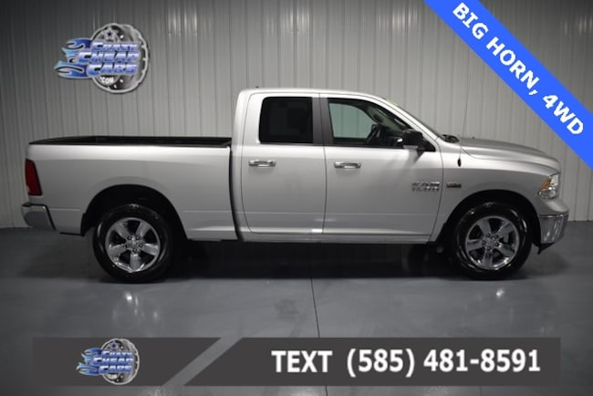 Used 2018 Ram 1500 Big Horn Truck for sale in Oakfield, NY