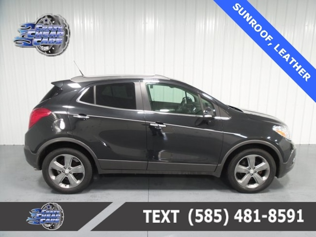 Used 2014 Buick Encore Leather SUV for sale in Oakfield, NY