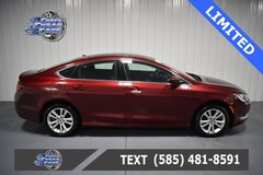 Used 2016 Chrysler 200 Limited Sedan 1C3CCCAB5GN126782 C126782 for Sale Near Buffalo NY