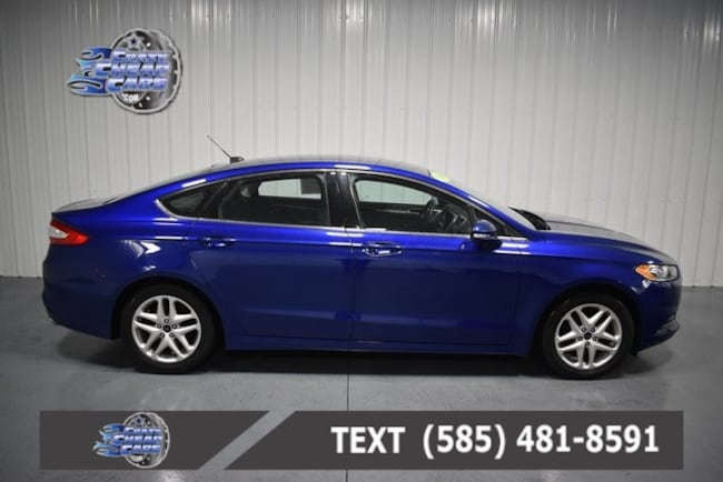 Used 2016 Ford Fusion SE Sedan for sale in Oakfield, NY