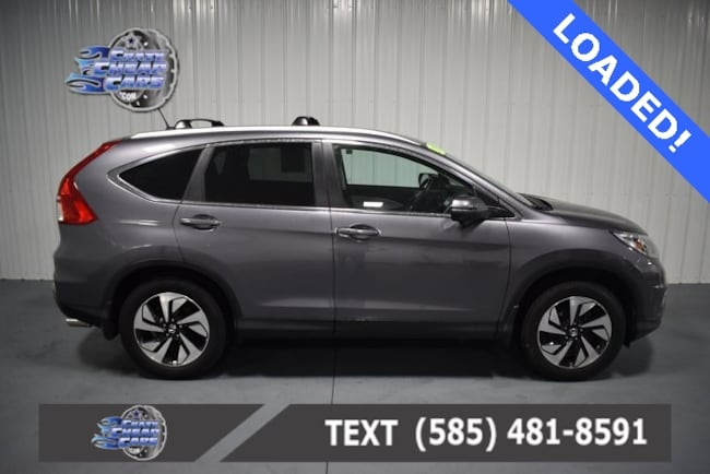 Used 2016 Honda CR-V Touring SUV for sale in Oakfield, NY